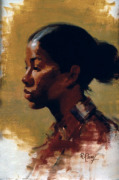 Young Girl, Profile
