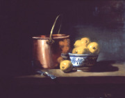 Copper Pot and Lemons
